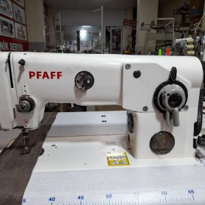 Pfaff 10 mm diker zikzak makinası sıfır tabla bakımlı